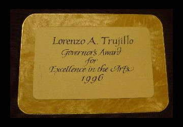 Lorenzo Trujillo Governor's Award