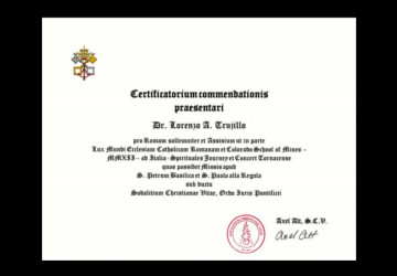 Commendation from Italy Concert Tour