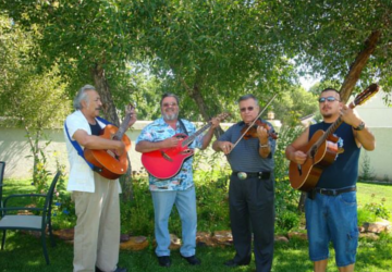 Mariachi under the Trees